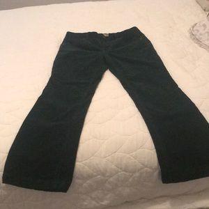 J. Crew favorite fit corduroy jeans in dark green
